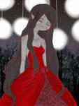 Marceline's wedding dress by iwannakissallama