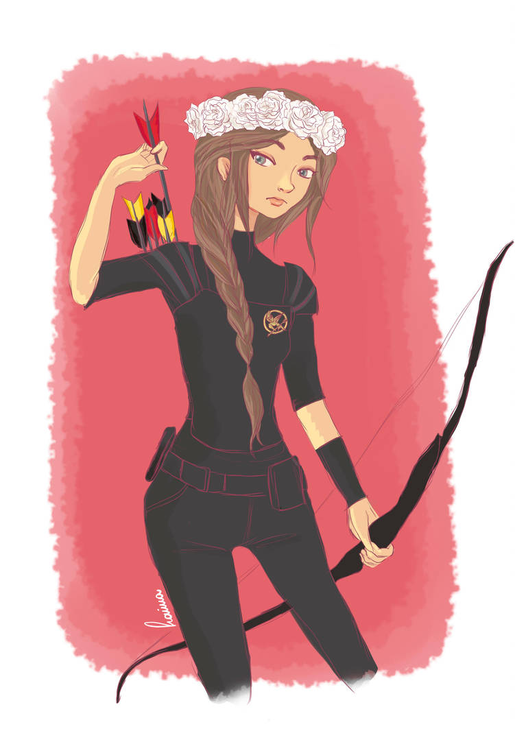 Katniss by iwannakissallama