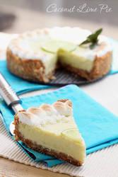 Coconut lime pie by kupenska