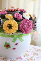 Cupcakes bouquet by kupenska