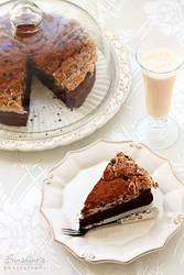 Chocolate meringue cake by kupenska