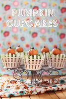 Pumpkin cupcakes by kupenska