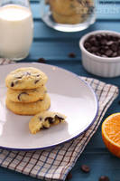 Chocolate chip cookies for breakfast by kupenska