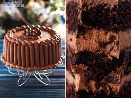 Chocolate cake by kupenska