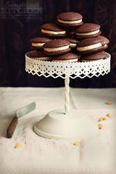 Peanut butter Whoopie pies by kupenska