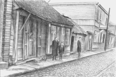 Kovno Street Scene 2 by dofaust