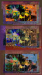 triptych 6 state 2 by dofaust