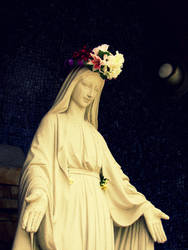 Mother Mary 2 by RanebowStitches