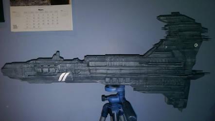 3D Printed Caldari Wyvern 1 by Voltis-Elusive