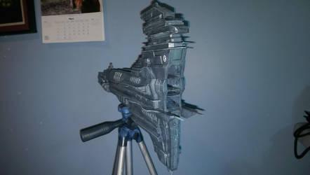 3D Printed Caldari Wyvern 2 by Voltis-Elusive
