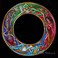 Gargoyles Color Wheel by MadameGiry