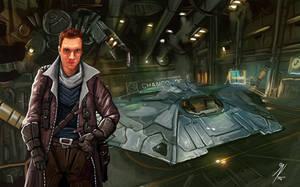Elite Dangerous: CMDR Jherek by KevinMassey