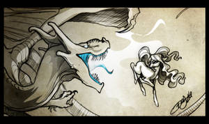 Dragon Killer is at it again!!!! by OpalAcorn