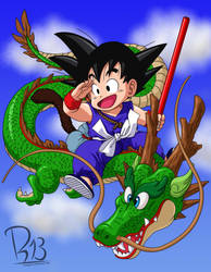 Dragon Ball - Volume 1 Cover by romigd13