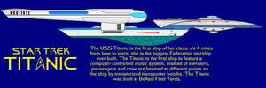 USS Titanic Final Iteration by DalekOfBorg