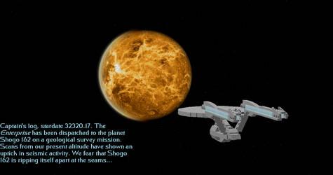Enterprise over Shogo 162 by DalekOfBorg