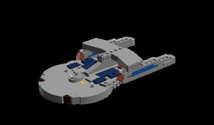 USS Nashville by DalekOfBorg
