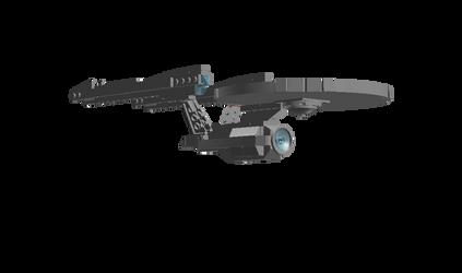 Abrams Enterprise Reimagined by DalekOfBorg