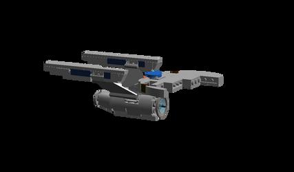 Enterprise self-destruct by DalekOfBorg