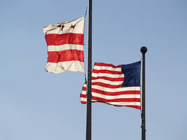 DC and US Flag STOCK II by Ghost-Rebel-Stock