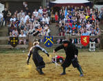Knights Fighting Stock II by Ghost-Rebel-Stock