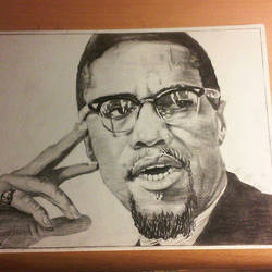 Malcolm X by bcobbs97