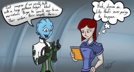 Lil Liara for okamiEvie-chan by fakefrogs