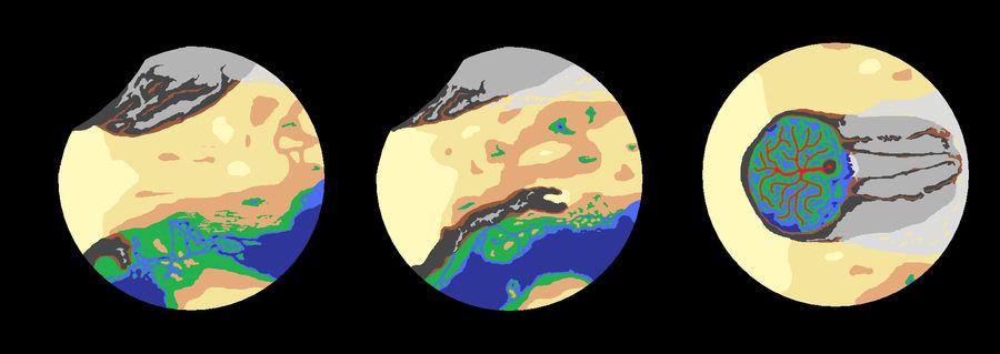 Masani - Space View by FluffyKnight