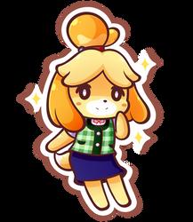 Isabelle by MegaBuster182