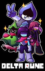 Delta Rune by MegaBuster182