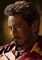 Tony Stark by JemLeigh