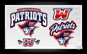 Westwood Patriots Hs by jpnunezdesigns