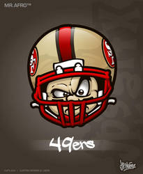 MrAfro52 - 49ers by jpnunezdesigns