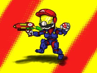 Super Chief by batmyke
