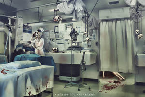 HORROR IN THE HOSPITAL by AlexisPs