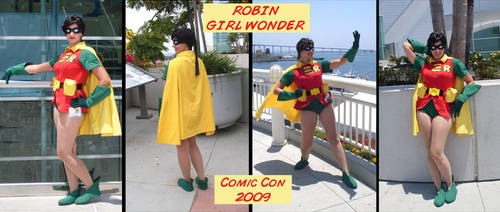 SDCC09: Robin, Girl Wonder by Demyrie