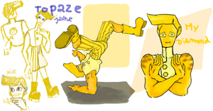 CH /// Topaze Gemsona by Luluugah