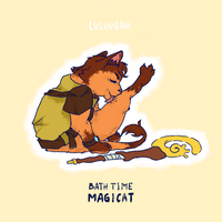 F / / / Magicat by Luluugah
