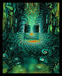 Crystal Solitude by Szellorozsa