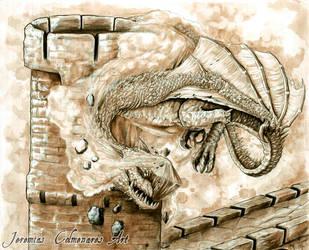 Dragon Attack by jeremiascolmenares