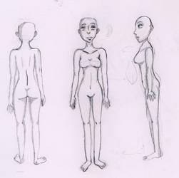 Female Anatomy-Recent Progress by Usagii