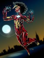 IronHeart Riri Williams by gemgfx