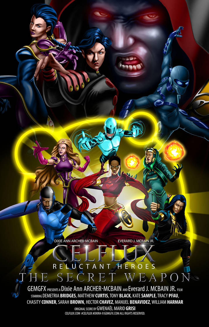 Celflux The Secret Weapon Movie Poster by gemgfx