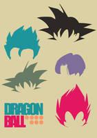 DB Hair styles poster by CarabARTS