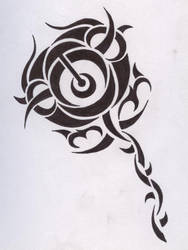 Tribal rose by synescape
