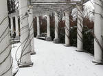 Petite colonnade d'hiver by Isunah