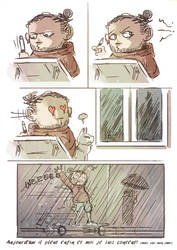 Stupid quick comic because I like rain too much by Ekwal