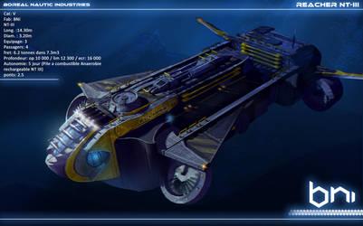 Submarine Reacher Eclipse for Polaris RPG by Ekwal