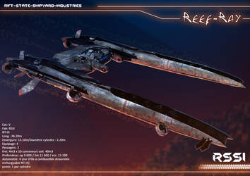 RSSI Reef-Ray - Pirate Ship for Polaris RPG by Ekwal