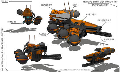 RPG Concept ship by Ekwal